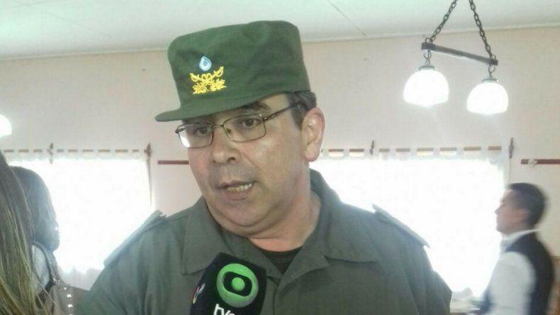 El comandante Hugo Castillo asumió como nuevo jefe regional de Gendarmería