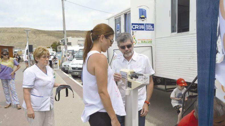 Habrá un tráiler móvil de salud en el paseo costero de Caleta Córdova
