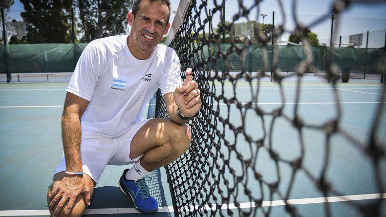 Daniel Orsanic confirmó ayer que seguirá al frente como capitán del equipo argentino de Copa Davis.