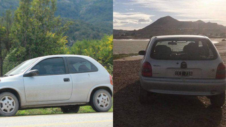 Robaron un auto en el centro de Comodoro