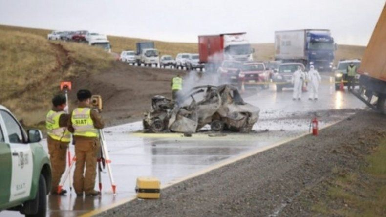 Una familia de Río Gallegos murió calcinada en un terrible accidente