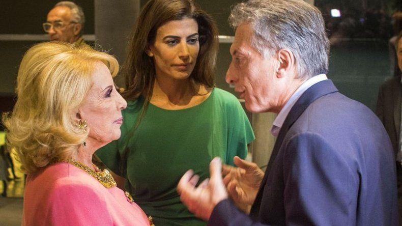 Mirtha Legrand se enojó con Macri por las vacaciones