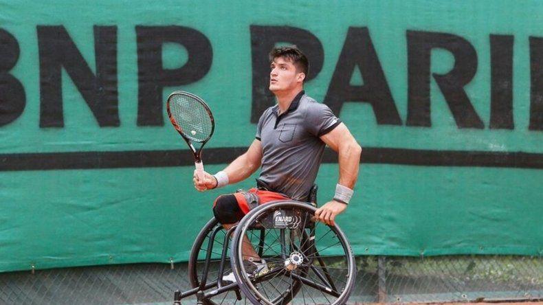 Perdieron su silla de ruedas y no puede defender su título Grand Slam