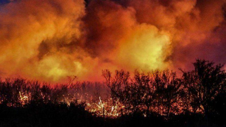 Incendios en Mendoza y La Pampa: se quemaron más de 230 mil hectáreas