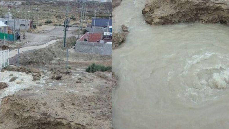 Rotura del acueducto en Castelli: el recambio de cañerías demandará tres días