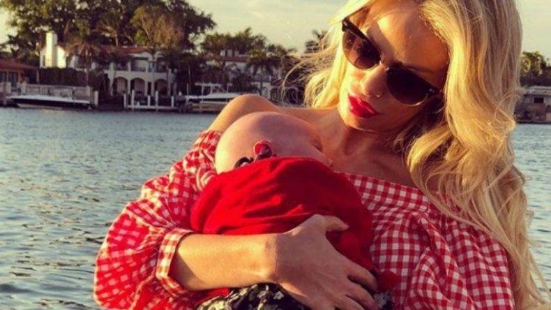 Luciana Salazar publicó la foto de Matilda recién nacida