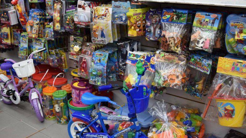 La venta de juguetes creció apenas 0,5%