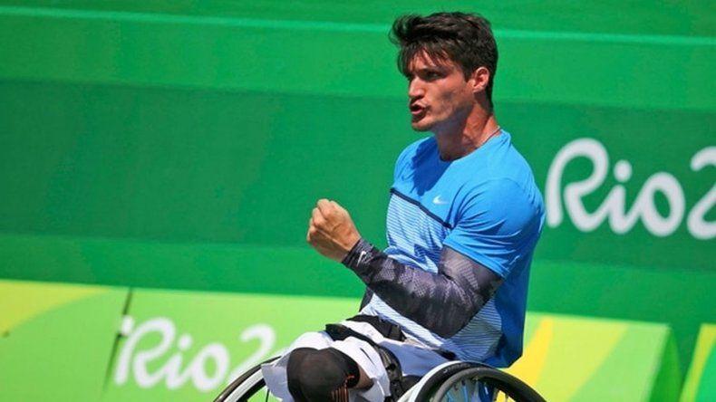 Apareció la silla de ruedas de Gustavo Fernández para competir en el Abierto de Australia