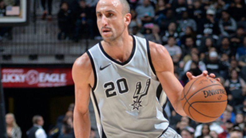 El bahiense Emanuel Ginóbili la rompió en el triunfo de San Antonio ante Phoenix Suns.