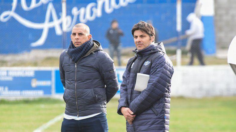 Hugo Barrientos y Eduardo Pepe Castro llegaron a un acuerdo inicial con la dirigencia para continuar al frente del lobo.