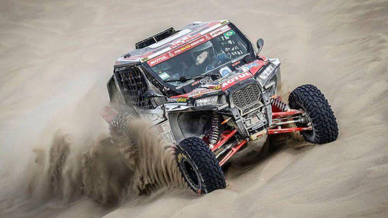 Los Utilitarios Todo Terreno son la nueva categoría que se sumó este año en el Dakar.
