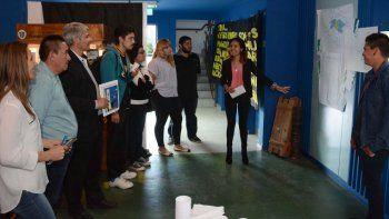 Estudiantes presentaron  su homenaje a los 35 años  de la Guerra de Malvinas