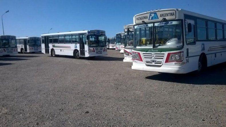 Nuevo paro de colectivos por tiempo indeterminado en Comodoro