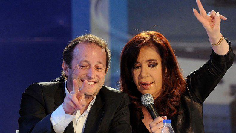 Insaurralde ve a CFK construyendo un gran frente electoral