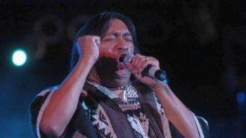 ruben patagonia cerro con su musica el festival sabor mapuche en esquel