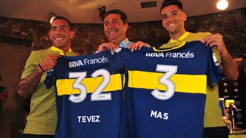 Carlos Tevez presentado en Boca: volví para ganar la Libertadores