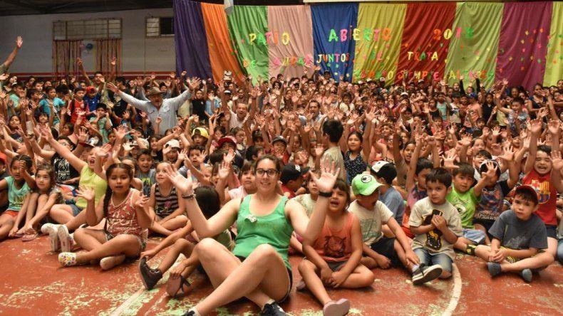 Más de tres mil chicos comenzaron las colonias de verano