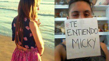 Tuitazo y marcha por la liberación de Micaela Barattini