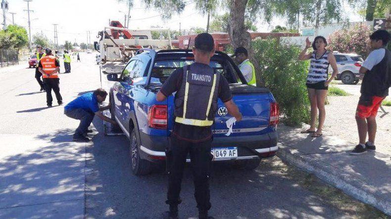 En el ingreso a Restinga Alí se controlaron 30 autos y un conductor arrojó alcoholemia positiva.
