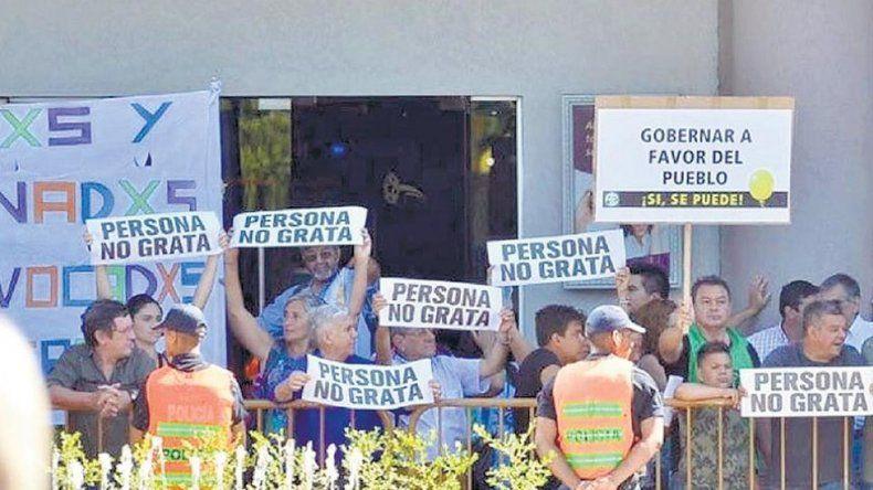 Repudio a Macri en San Rafael