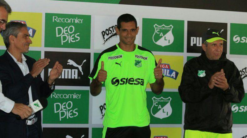 José Sand fue presentado en Deportivo Cali
