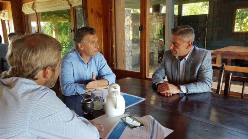 Arcioni mantuvo un encuentro con el Presidente en Villa La Angostura