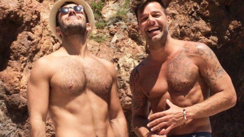 Ricky Martin se casó con su pareja en secreto