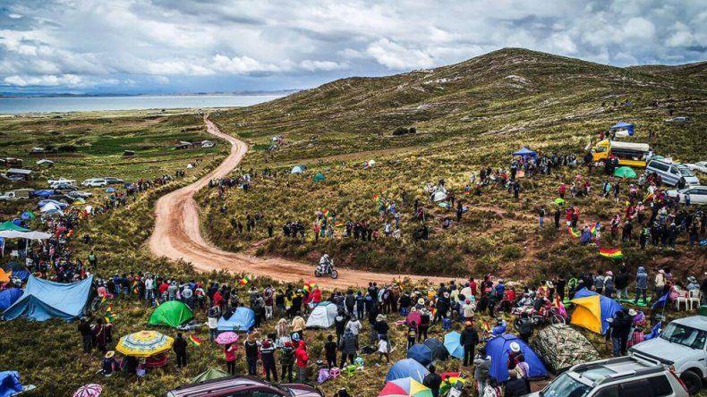 El Rally Dakar ya se encuentra en terreno boliviano.