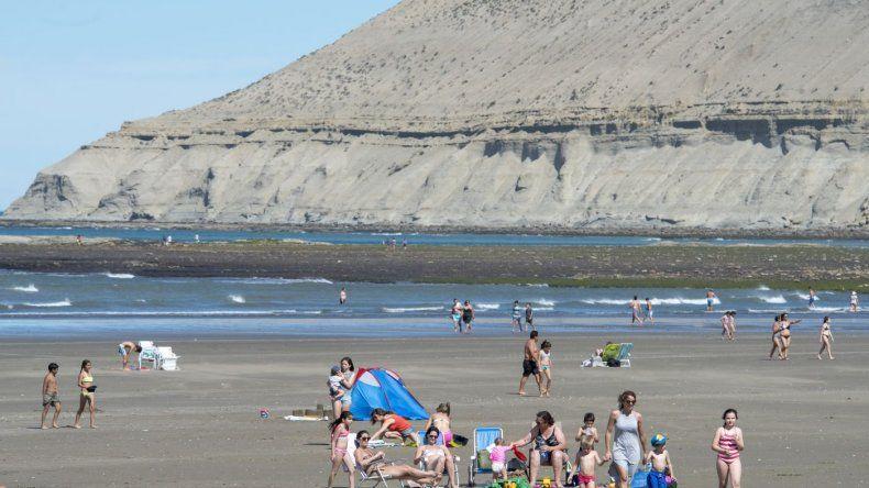 Días de mucho calor y playas repletas