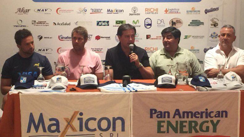 En la tarde de ayer se realizó la presentación oficial de la XXVIII edición del Seven de Rugby de la Patagonia que organiza Chenque RC.