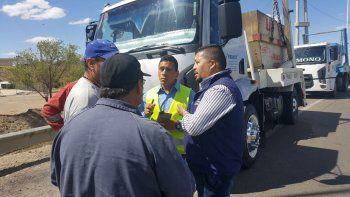 Uno de los camioneros incluso carecía de carnet.