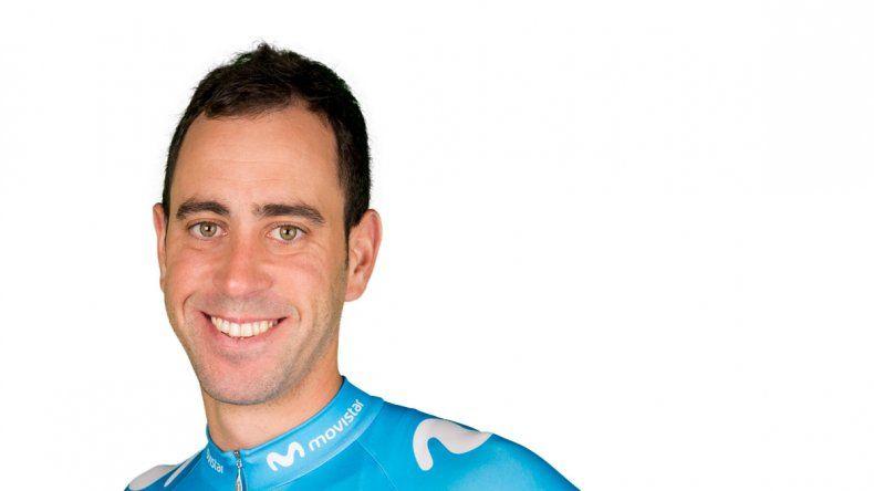Eduardo Sepúlveda es uno de los flamantes integrantes del Movistar Team de ciclismo.