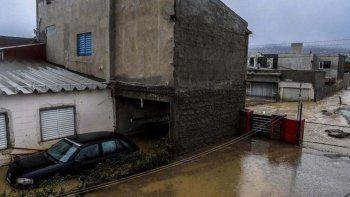 reacondicionaron calles del moure que se vieron afectadas por el temporal