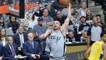 ginobili sigue brillando