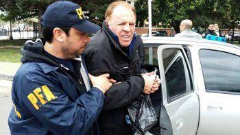 Omar Suárez está imputado por la extorsión a empresarios marítimos.