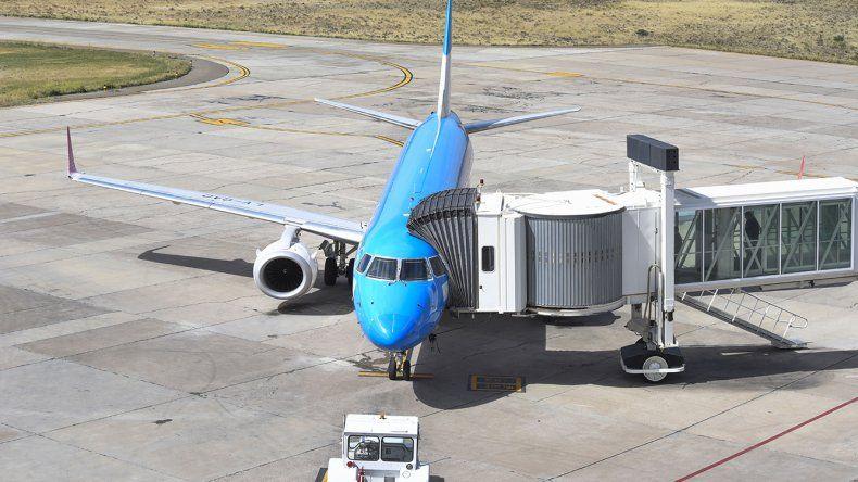 El aeropuerto de Comodoro Rivadavia sigue figurando entre los de mayor actividad en el país.