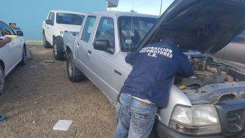 recuperaron una camioneta que tenia pedido de secuestro