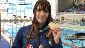 Julieta Lema viajó a Miami junto a la selección argentina