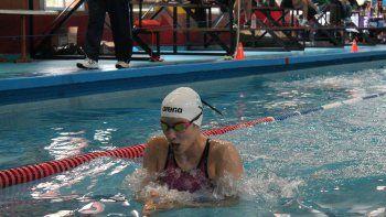 Julieta Lema se encuentra en Estados Unidos con al selección argentina de natación para participar de la Copa UANA.