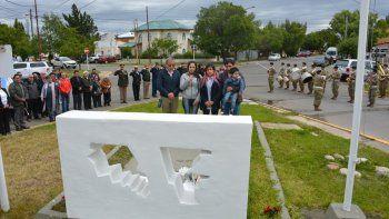El anuncio oficial de la identificación del cuerpo del soldado santacruceño muerto en combate en 1982 se hizo en el Espacio Cultural del Centro de Veteranos de Guerra de Malvinas.