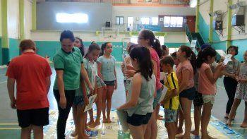 colonias de vacaciones participaron de actividades de concientizacion