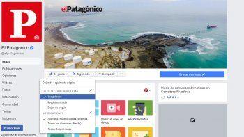 no te pierdas las noticias de el patagonico en facebook