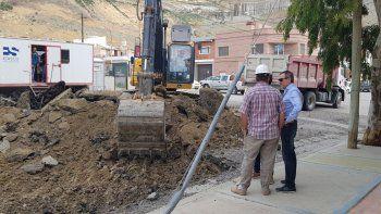 El viceintendente Juan Pablo Luque encabezó ayer una recorrida por distintas obras que se realizan en Comodoro Rivadavia.