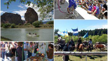 durante el fin de semana se celebraran cinco fiestas populares en chubut