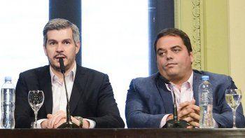 Marcos Peña respaldó a Jorge Triaca (h) como ministro de Trabajo.
