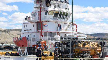 El puerto comodorense recibió durante la segunda quincena de noviembre y gran parte de diciembre a los buques de distintas nacionalidades que estuvieron afectados a la búsqueda del submarino.