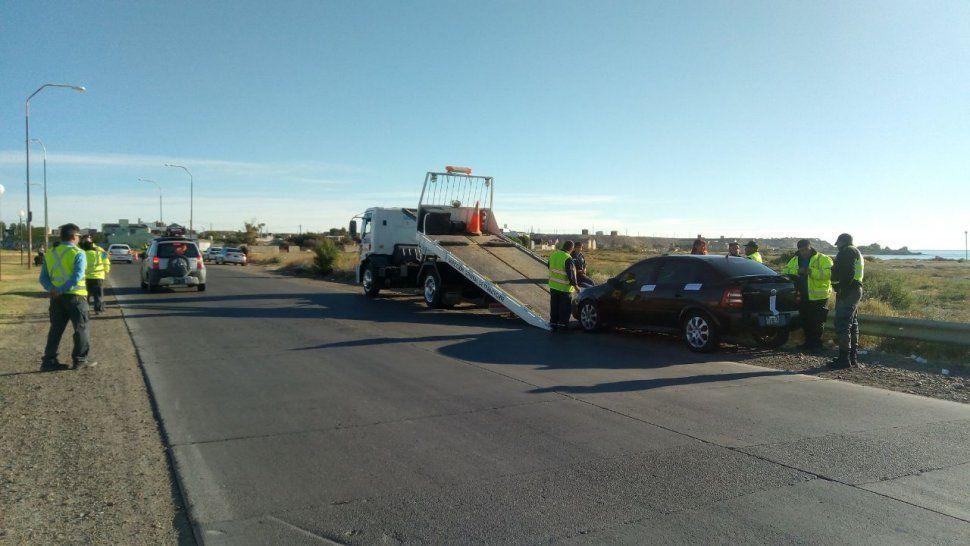 Secuestraron cinco vehículos por alcoholemias positivas