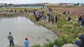 Niña murió ahogada en la laguna de un predio abandonado