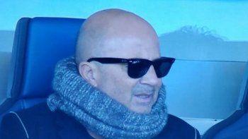Jorge Sampaoli continúa observando la actuación de los futbolistas argentinos en Europa.