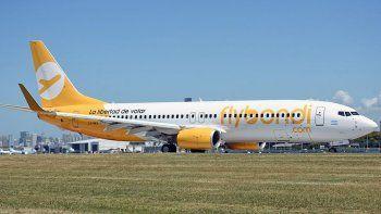 Un vuelo de Fly Bondi tuvo que hacer un aterrizaje de emergencia
